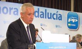 Arenas garantiza que el PP-A estará en cualquier reclamación que se plantee en base al Estatuto de Autonomía andaluz