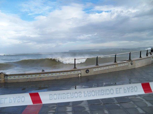 temporal en Santander