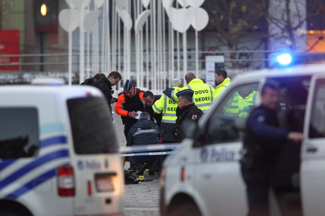 Ataque De Nordine Amrani En La Ciudad De Lieja (Bélgica)