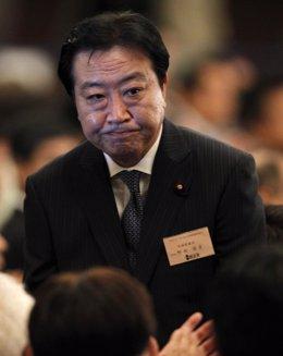 El Ministro De Finanzas De Japón, Yoshihiko Noda