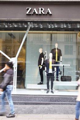 Tienda de Zara del Grupo Inditex