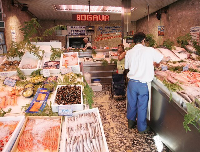 Pescadería, precios, comercio minorista, ipc