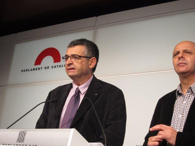 Salvador Milà Y Joan Boada (ICV)