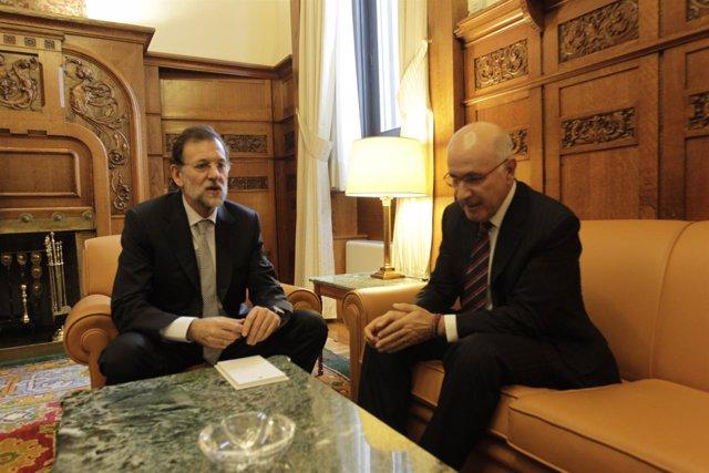 Mariano Rajoy Y Duran I Lleida Se Reúnen En El Congreso