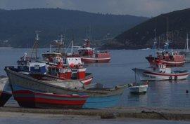 La mayor parte de la flota gallega permanece amarrada ante la alerta roja