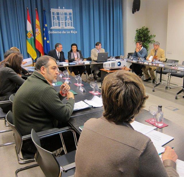 Reunión Consejo Superior De Estadística De La Rioja