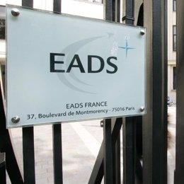 Entrada de la empresa aeronaútica EADS