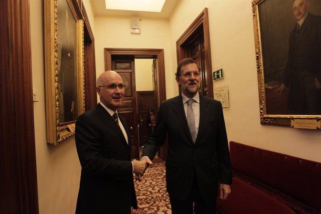 Rajoy Y Duran En El Congreso