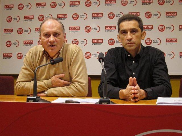 Temprano, A La Izquierda, Y Andrés Durante La Valoración Del IPC