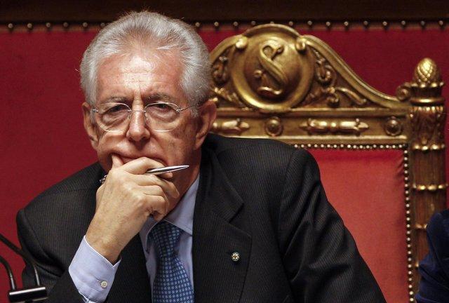 Mario Monti (Italia) En El Senado