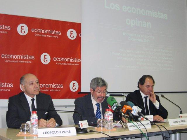 Los Decanos De Valencia, Alicante Y Castellón Presentan La Encuesta.