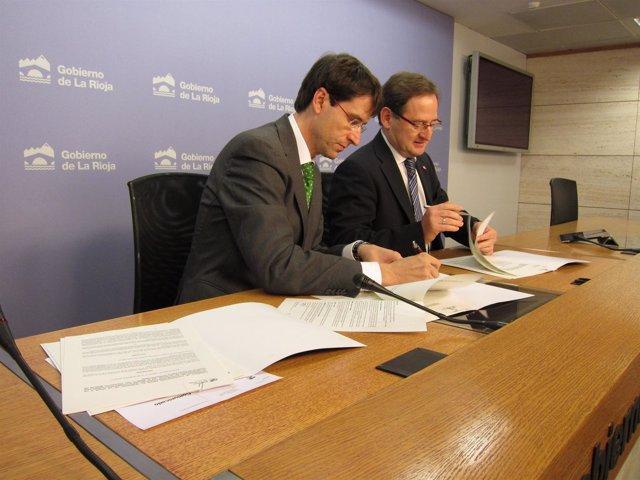 Martínez De Pisón Y Capellán Firman Convenio De Colaboración