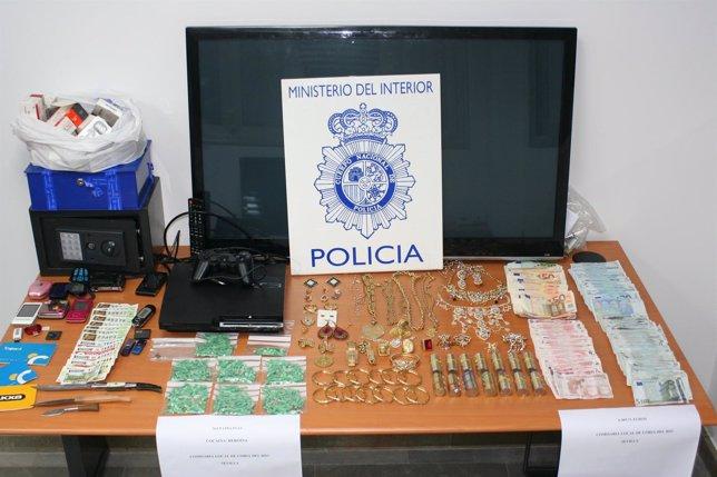 Tres Detenidos Por Vender Droga En Coria Del Río (Sevilla)