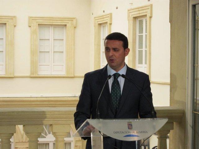 El Vicepresidente De La Diputación Provincial, Javier Aureliano García (PP)