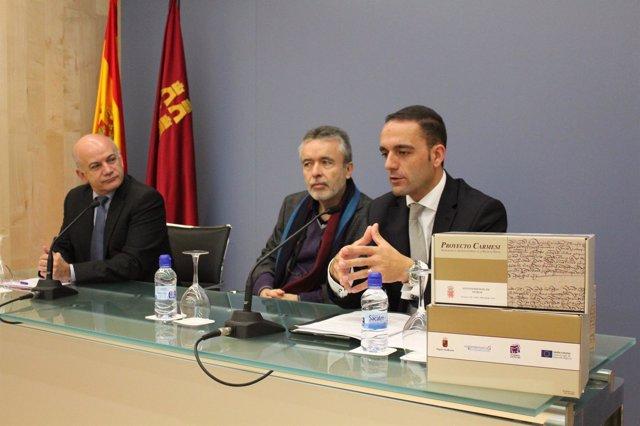 Presentación De La Sexta Fase Del Proyecto Carmesí