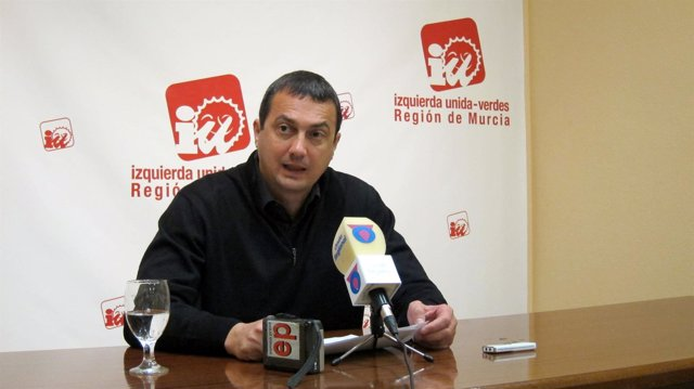 El Coordinador Y Diputado Regional De IU-Verdes En Murcia, José Antonio Pujante