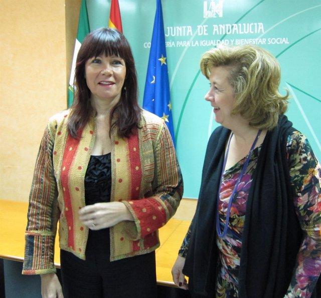 La Consejera Para La Igualdad Y Bienestar Social, Micaela Navarro