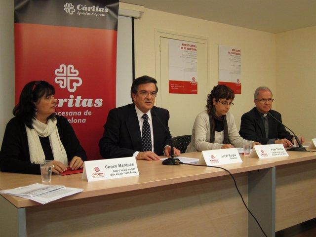 'Cáritas De Barcelona Presenta Su Atención A Personas En 2011'.
