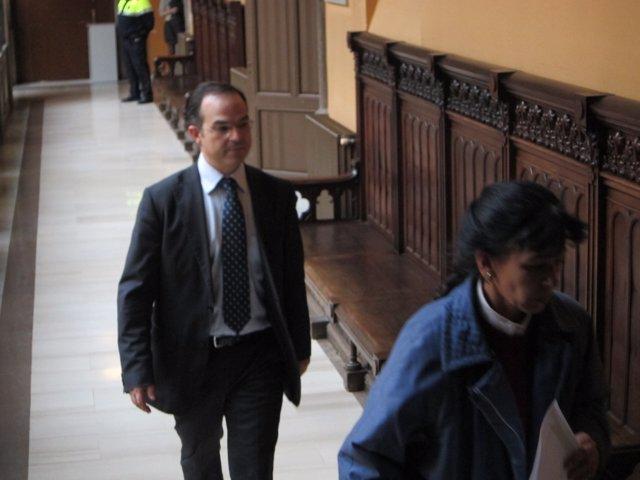 Jordi Turull, A Su Entrada A La Audiencia