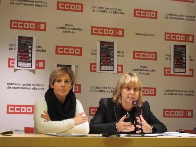 Campoy Y López En Rueda De Prensa