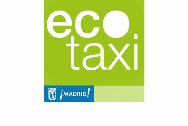 Distintivo De Los Ecotaxis De Madrid