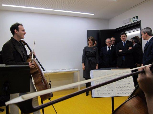 Inauguración De La Ciudad De La Música.
