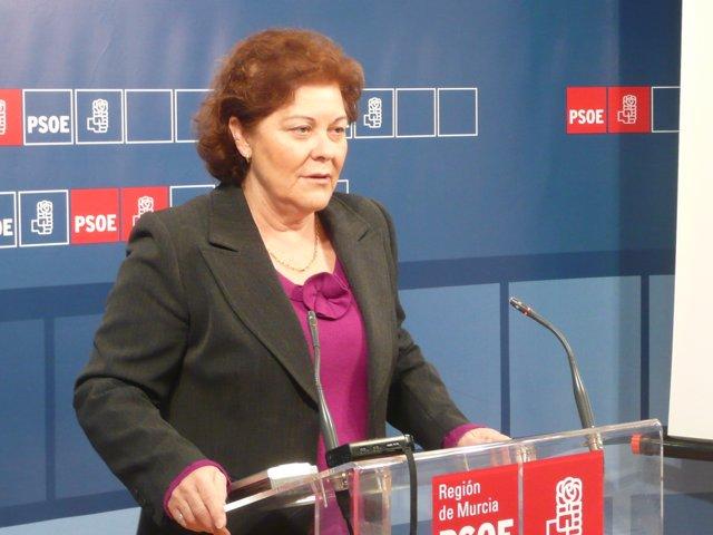 La diputada socialista Teresa Rosique
