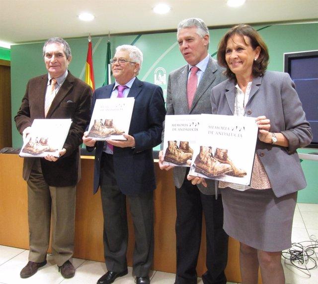 Presentación Del Libro Memoria Viva De Andalucía Sobre La Memoria Histórica
