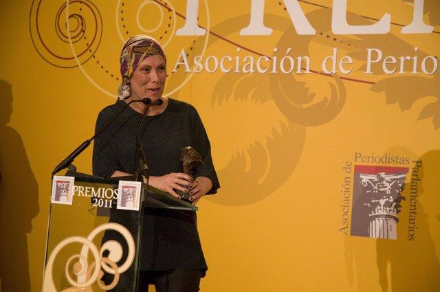 Uxue Barkos, Premio Mejor Orador 2011