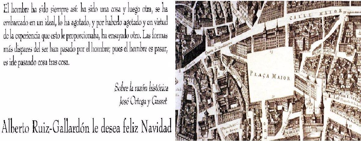 Feliz Navidad Siempre Asi.Gallardon Elige Un Texto De Ortega Para Felicitar Las Navidades