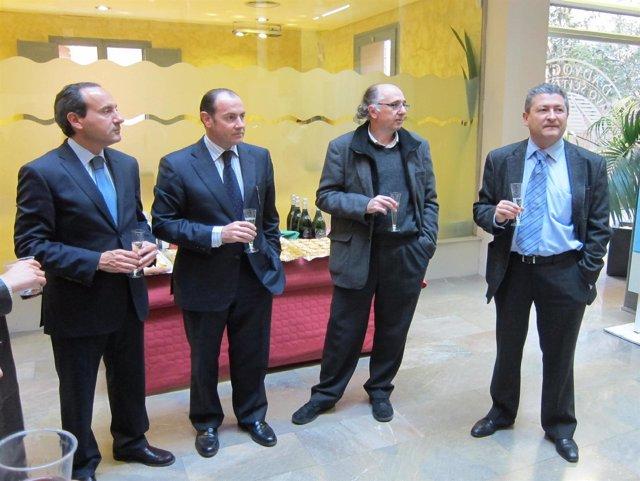 Salvador Perera, Rafel Gil, Carlos López Y Juan Font