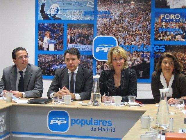 Lasquetty, González, Aguirre Y Ongil En El Comité De Dirección