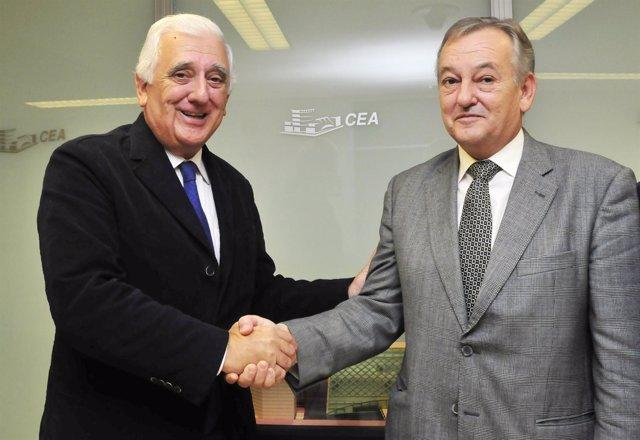 Santiago Herrero Y Pedro Maza.