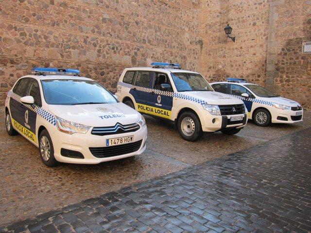 Nuevos Coches De La Policía