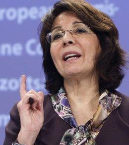 Comisaria europea de Pesca, Maria Damanaki