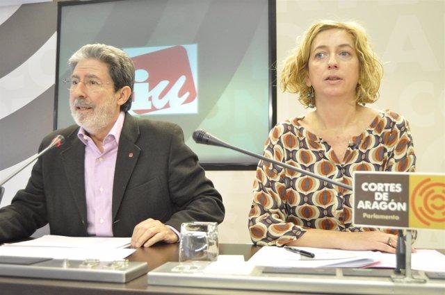Adolfo Barrena Y Patricia Luquin