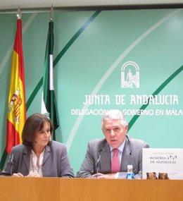 El Consejero De Justicia Y Gobernación, Francisco Menacho