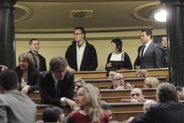 Diputados De Amaiur En El Congreso De Los Diputados