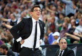 """Baloncesto/Euroliga.- Katsikaris: """"No podemos perder la concentración ni un minuto ante el Fenerbahce"""""""