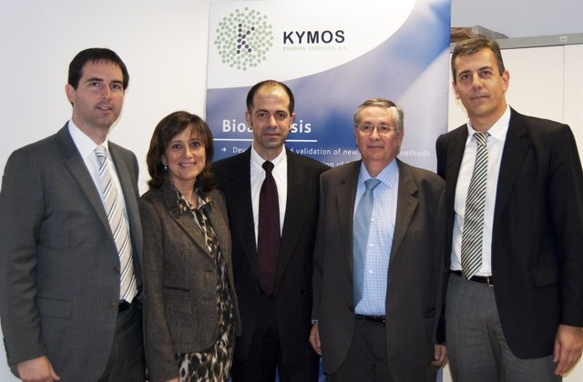Firma Del Acuerdo Entre Kymos E Ipsen