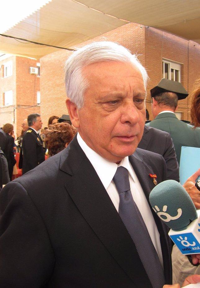 El Subdelegado Del Gobierno En Málaga, Hilario López Luna