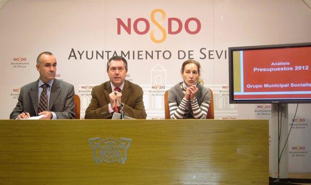 Rueda Del Prensa Del PSOE Valorando Los Presupuestos
