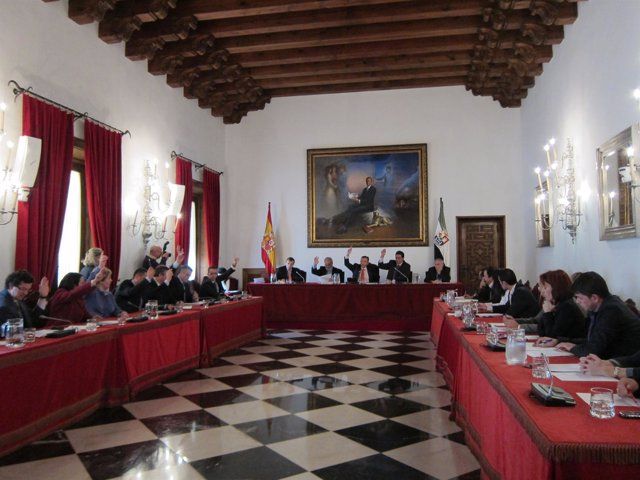 Pleno Diputación De Cáceres