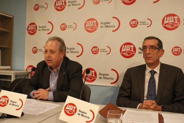Antonio Jiménez En Jornada Informativa Que UGT Región De Murcia