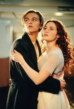 Dicaprio Y Kate Winslet En Titanic