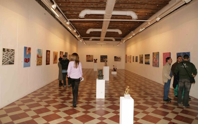 Exposición De Aplama En El Centro Cívico