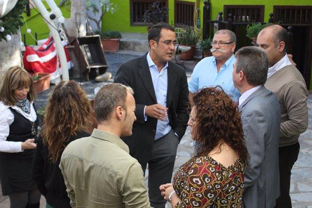 Consejero De Turismo Del Cabildo De Fuerteventura, Blas Acosta