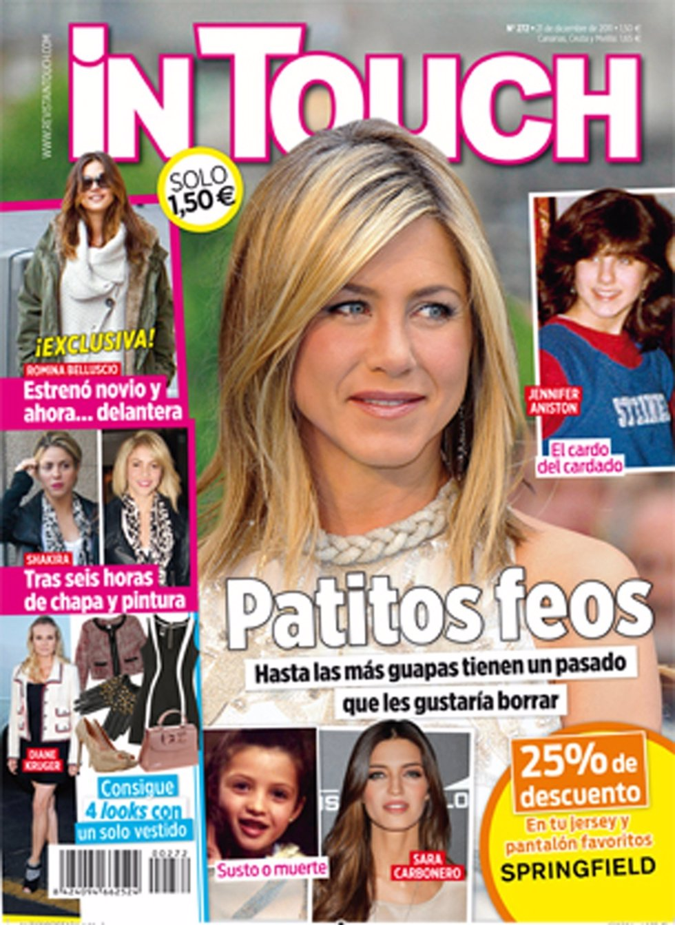 Portada De La Revista 'Intouch'