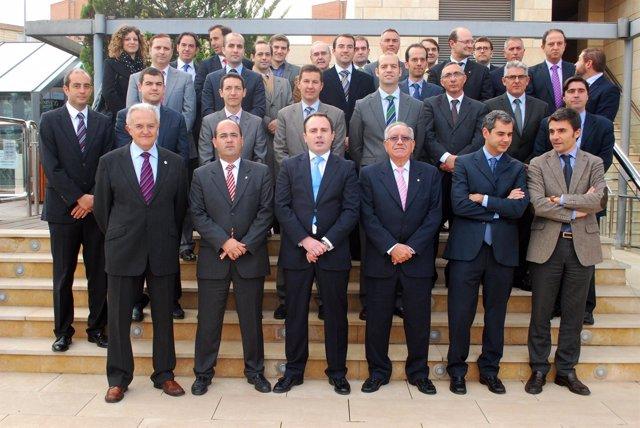 Presidentes Cámaras Comercio Con ADIMUR