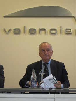 El Presidente De La Autoridad Portuaria De Valencia (APV), Rafael Aznar.